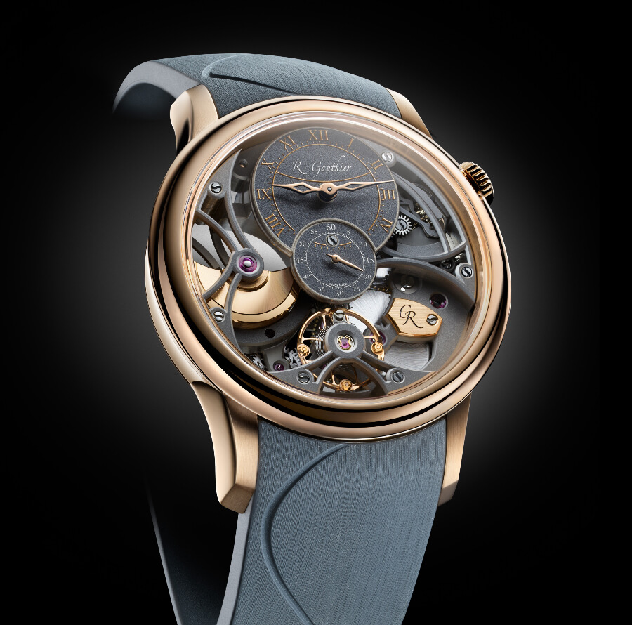 Romain Gauthier Insight Micro-Rotor Squelette Special Orders Red Gold