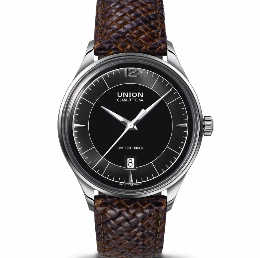 The New Union Glashütte Noramis Date Limited Edition Germany Classic 2020