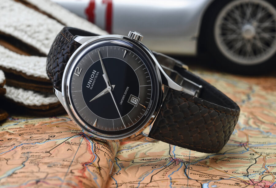 Union Glashütte Noramis Date Limited Edition Germany Classic 2020 Watch Review