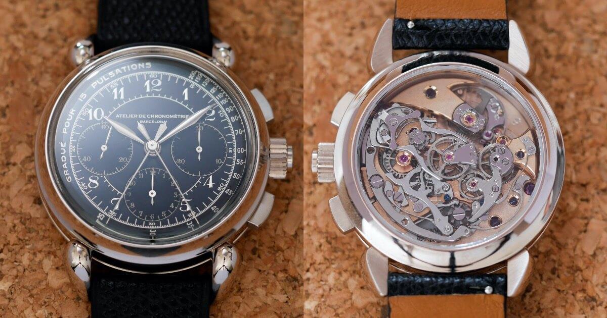 Atelier de Chronométrie AdC#8 Split-Seconds Chronograph (Price, Pictures and Specifications)