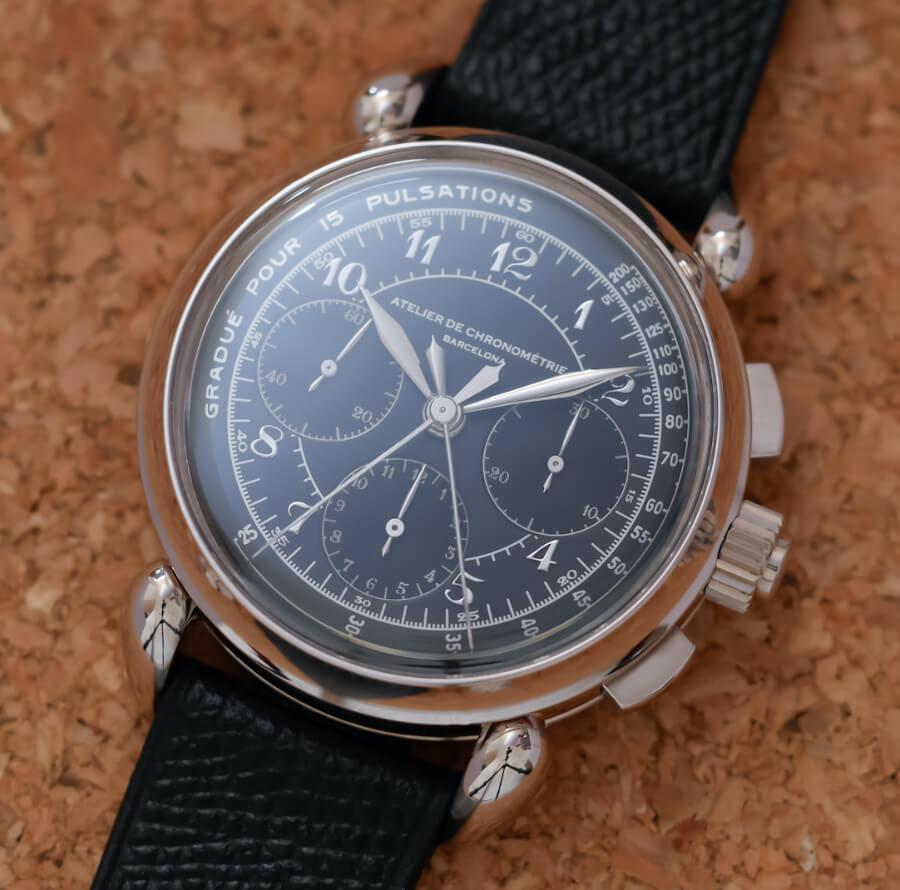 Atelier de Chronométrie AdC#8 Split-Seconds Chronograph Watch Review