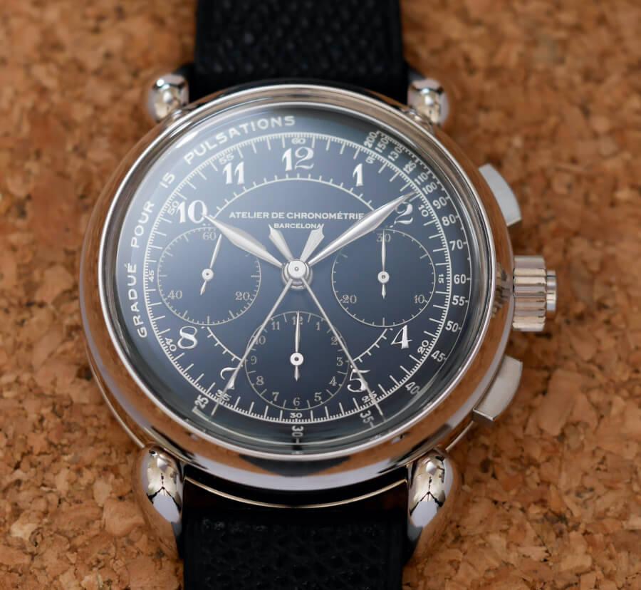 The New Atelier de Chronométrie AdC#8 Split-Seconds Chronograph