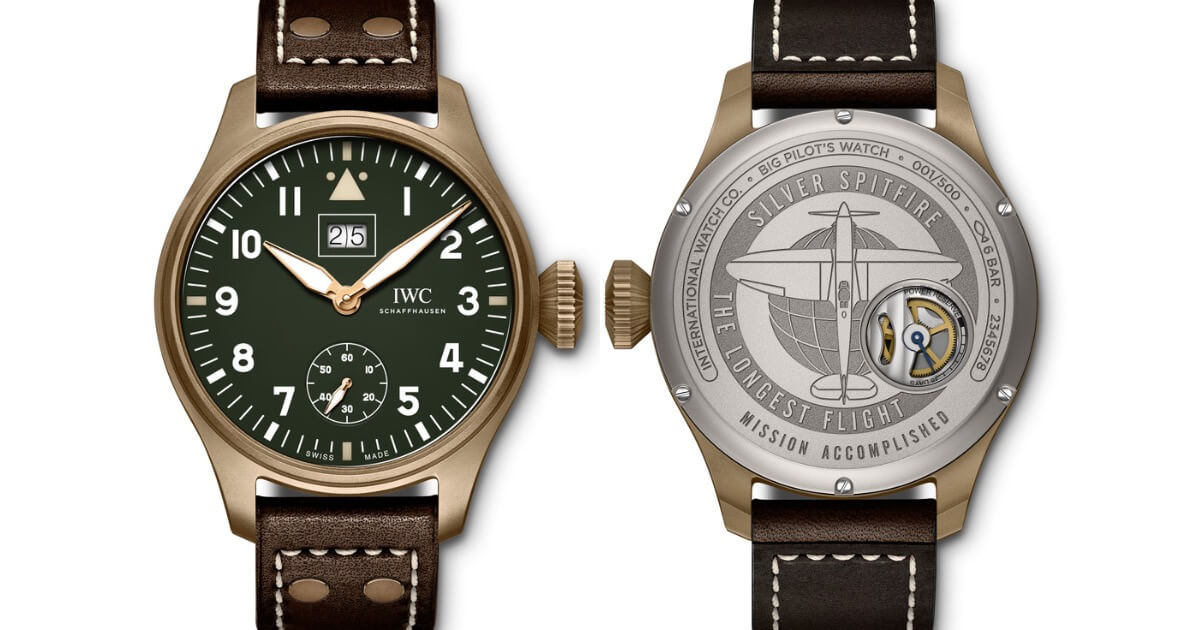 "IWC Big Pilot's Watch Big Date Spitfire Edition ""Mission Accomplished"" (Price, Pictures and Specifications)"