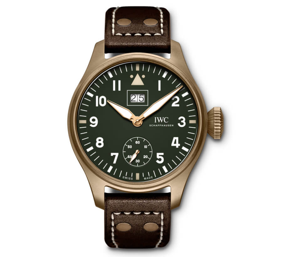 "The New IWC Big Pilot's Watch Big Date Spitfire Edition ""Mission Accomplished"""