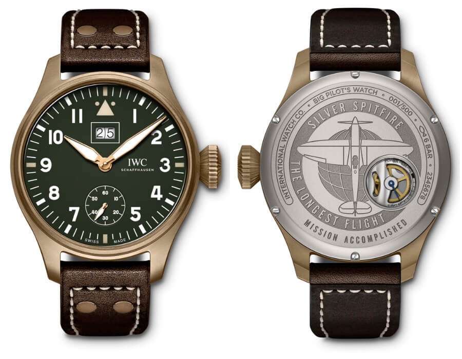 "IWC Big Pilot's Watch Big Date Spitfire Edition ""Mission Accomplished"" Watch Review"