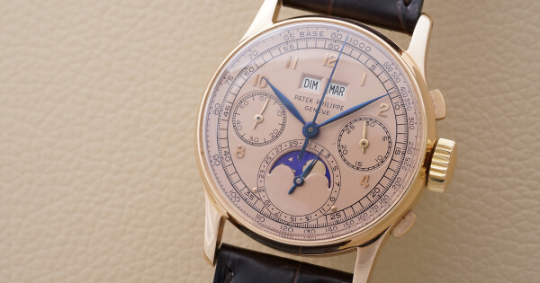 Breaking News: A Patek Philippe Ref.1518 in Pink Gold, from the Collection of Jean-Claude Biver, Sells for CHF 3.4 Million / US$ 3.6 Million