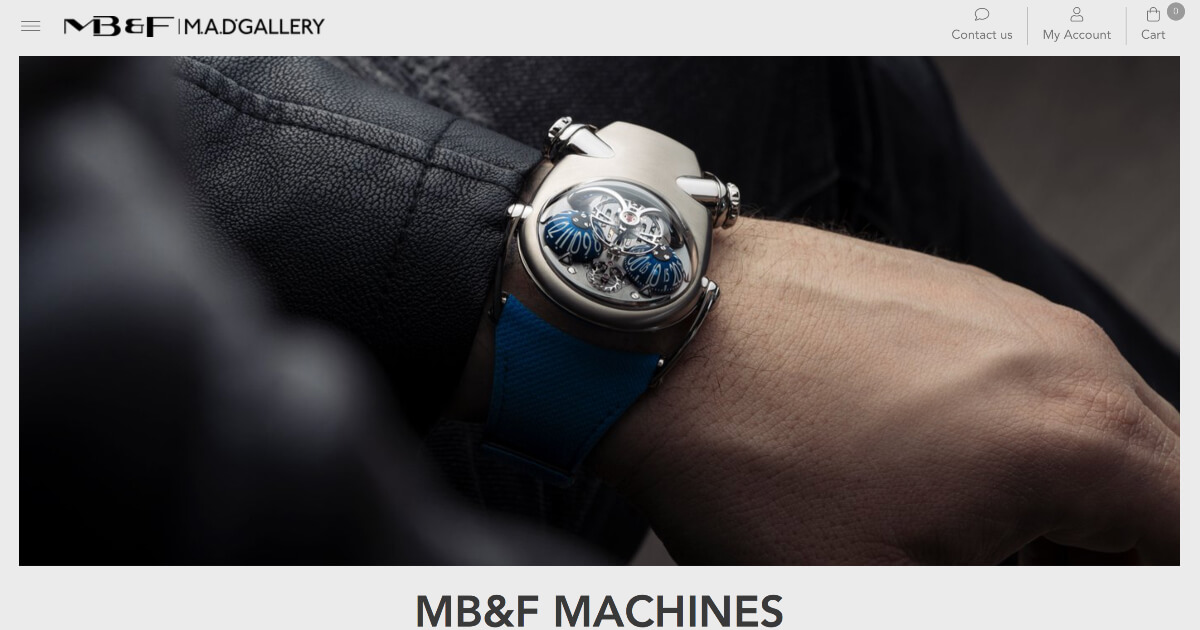 MB&F Introduces New E-Commerce Concept