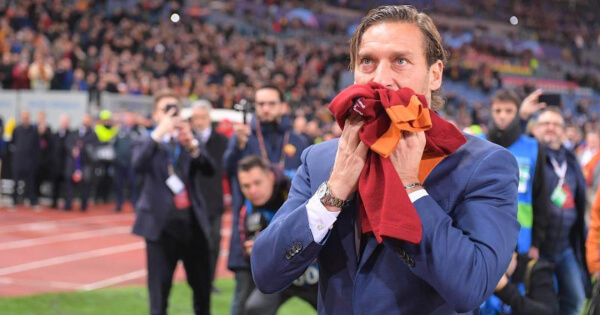 Francesco Totti Lost His Rolex Daytona