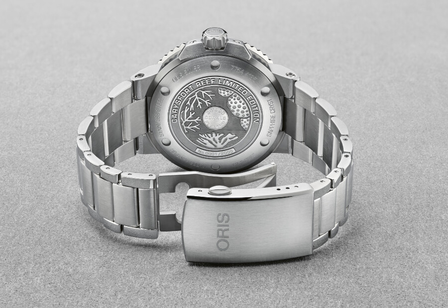 Oris Carysfort Reef Limited Edition Case Back