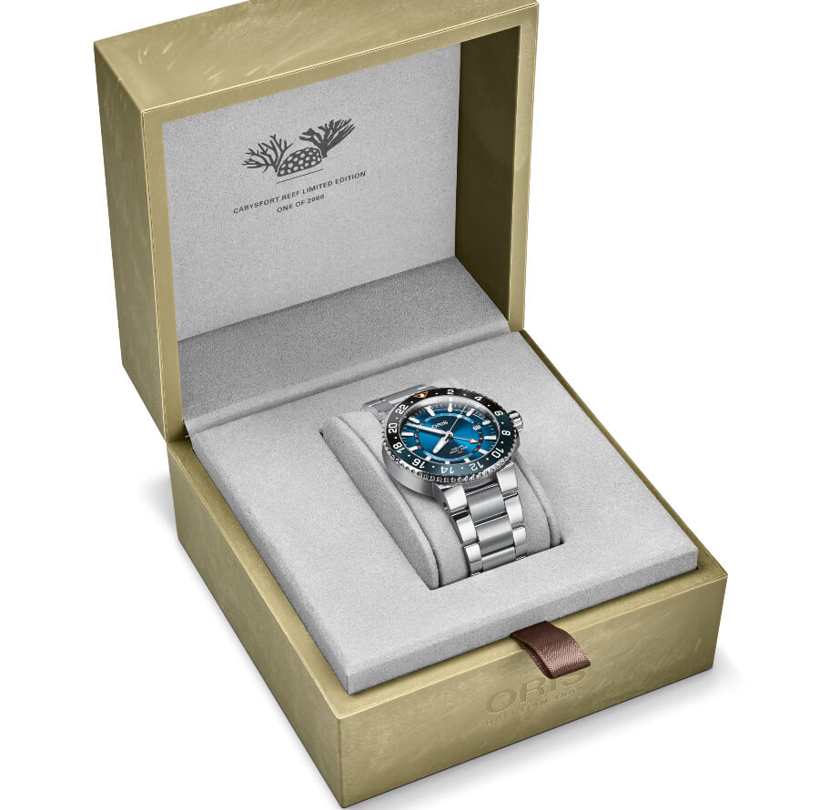 Oris Carysfort Reef Limited Edition Full Box For Sale