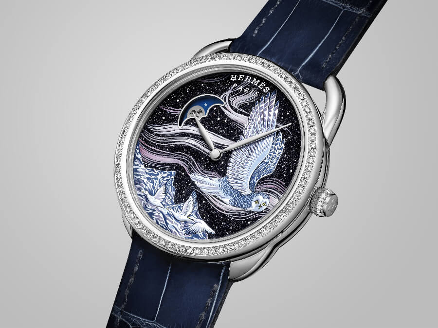 Hermes Arceau Into The Canadian Wild (with the moon phase)