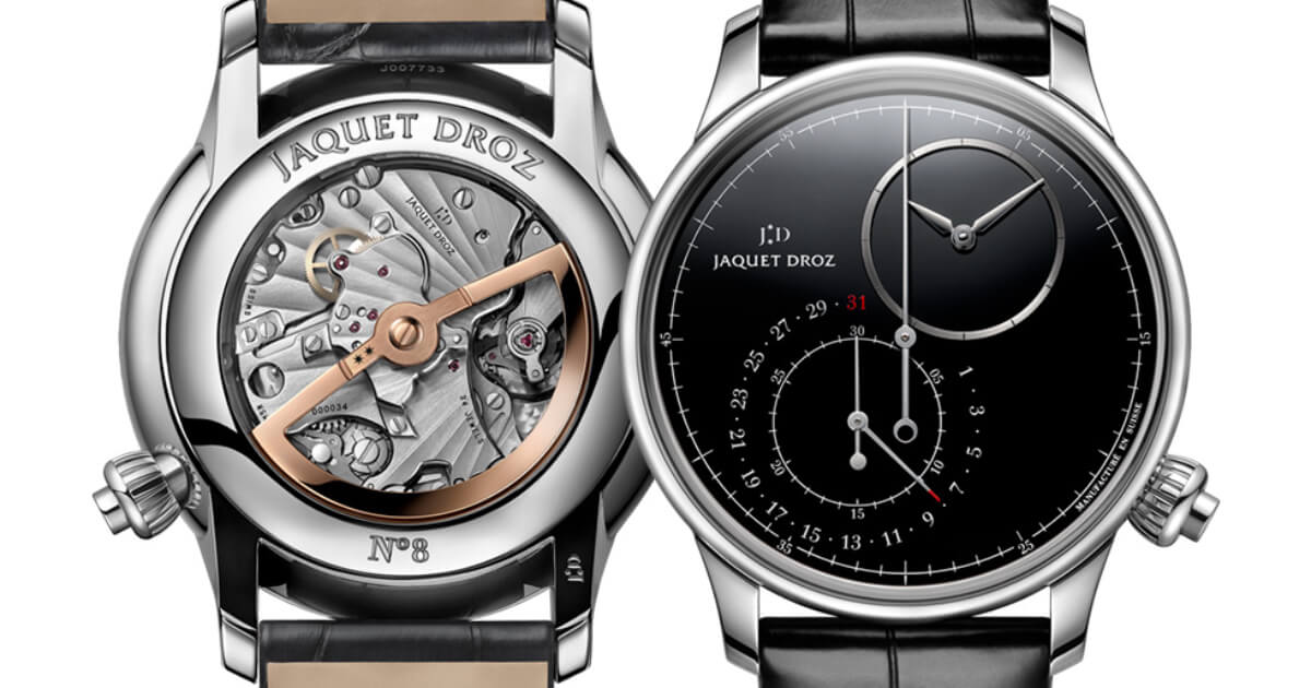 Jaquet Droz Grande Seconde Off-Centered Chronograph Black Onyx (Price, Pictures and Specifications)