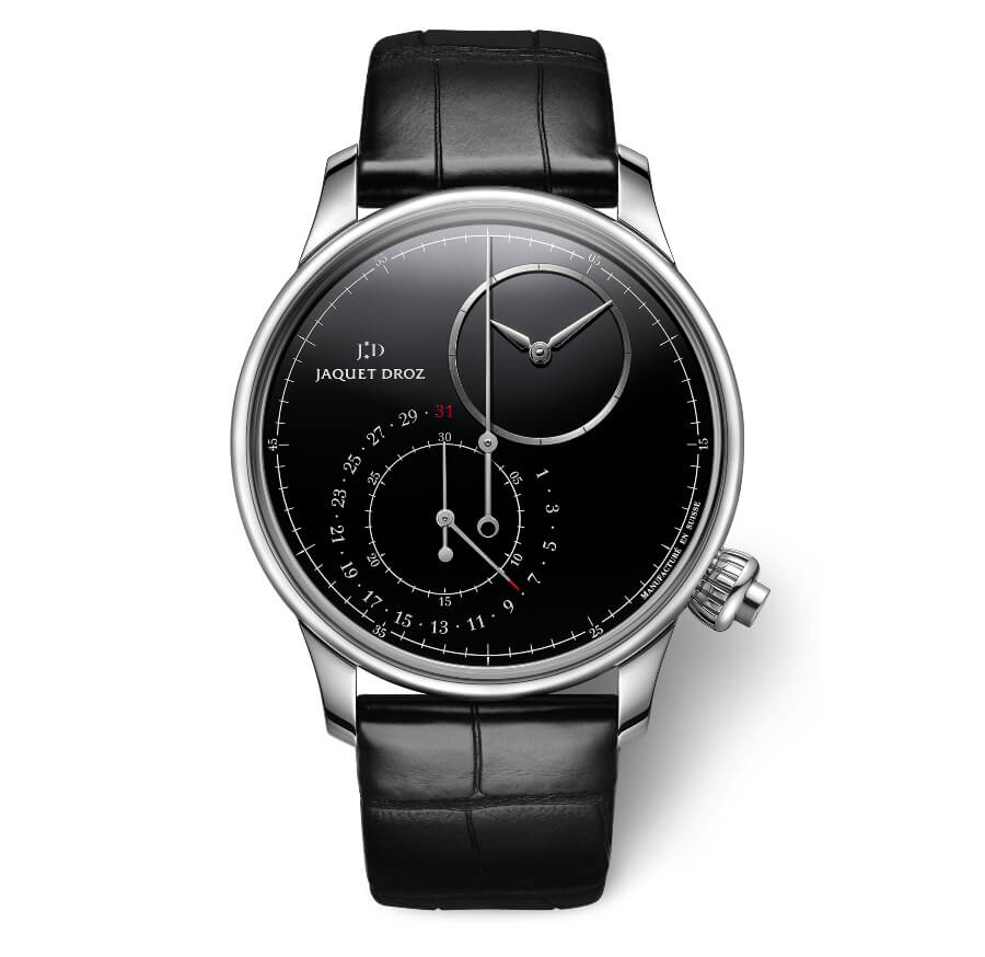 Jaquet Droz Grande Seconde Off-Centered Chronograph Black Onyx