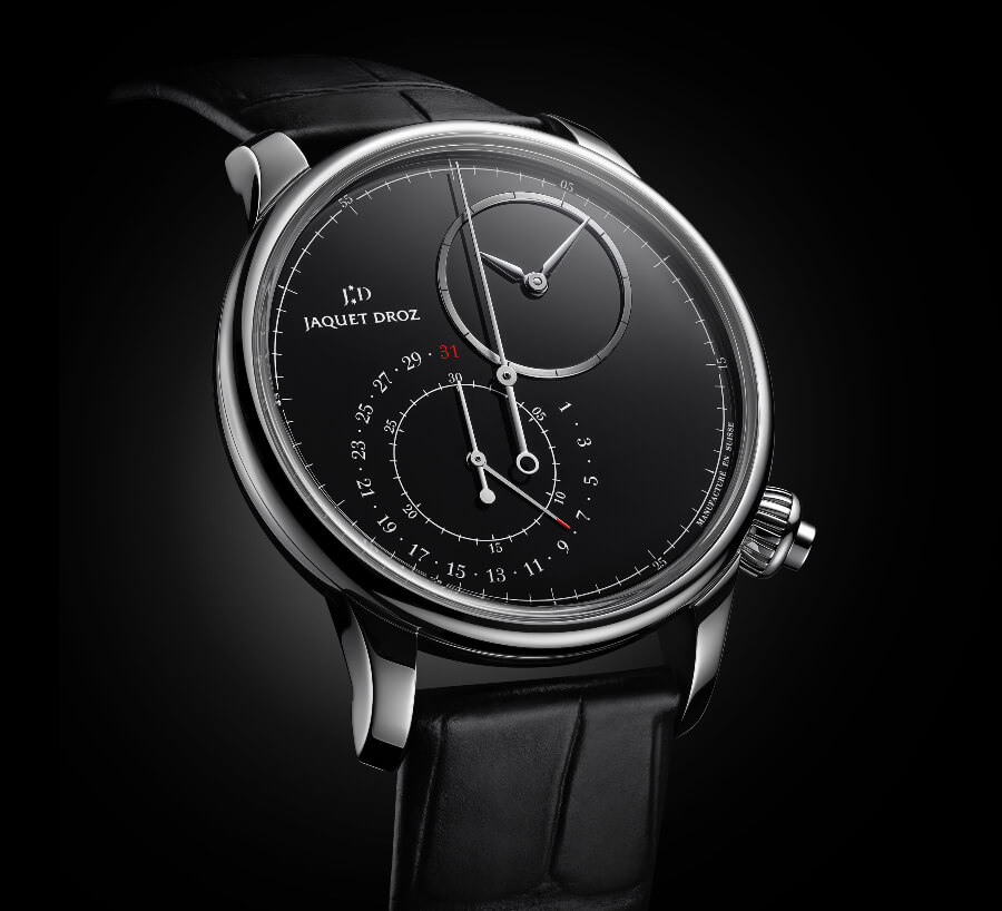 GPHG 2020 Jaquet Droz Grande Seconde Off-Centered Chronograph Black Onyx