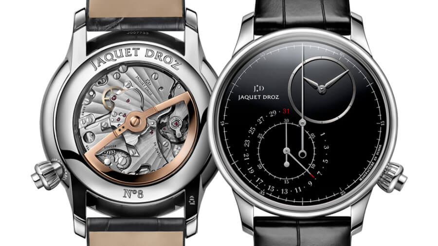 Jaquet Droz Grande Seconde Off-Centered Chronograph Black Onyx Watch Review
