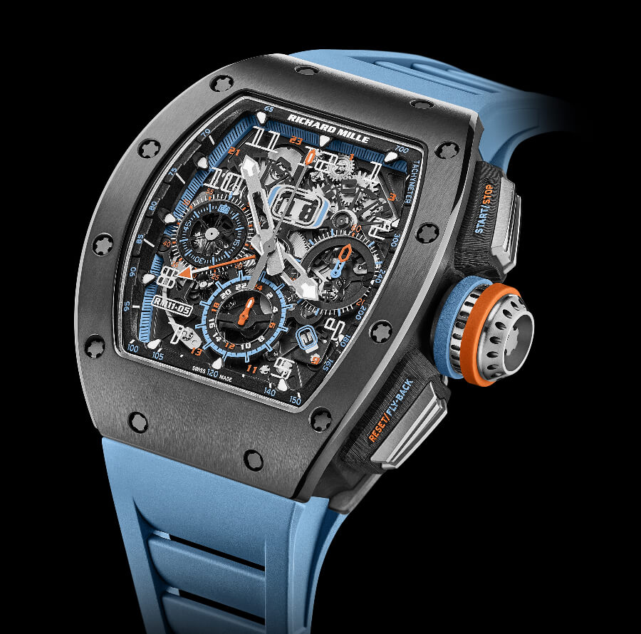 The New Richard Mille RM 11-05 Automatic Flyback Chronograph GMT