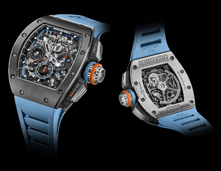Richard Mille RM 11-05 Automatic Flyback Chronograph GMT Watch Review