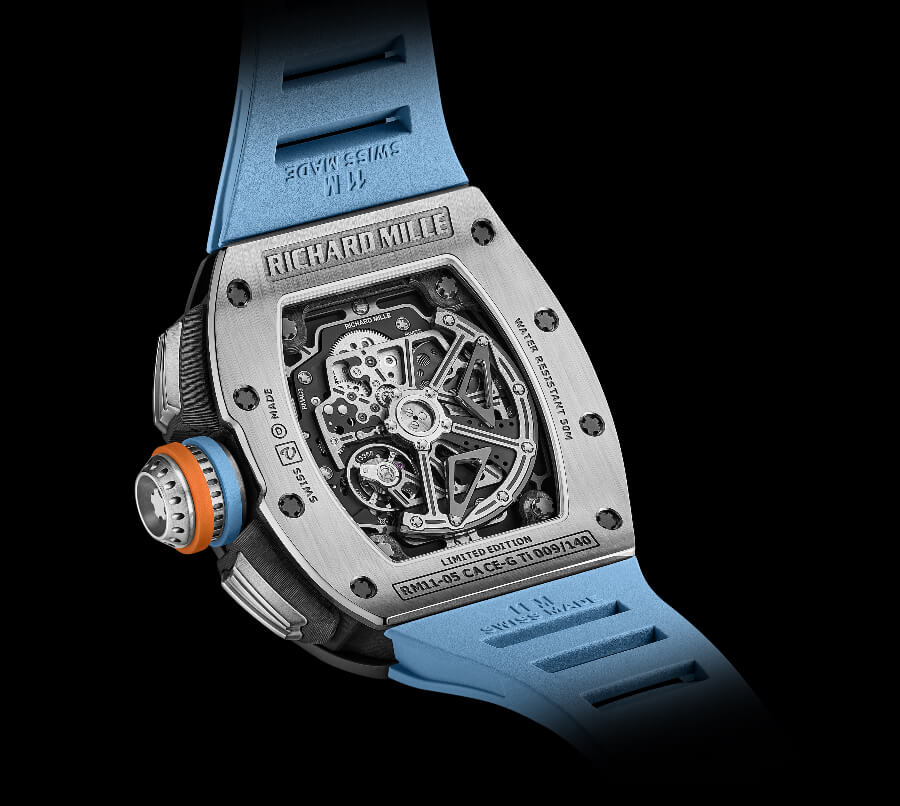 Richard Mille RM 11-05 Automatic Flyback Chronograph GMT Movement