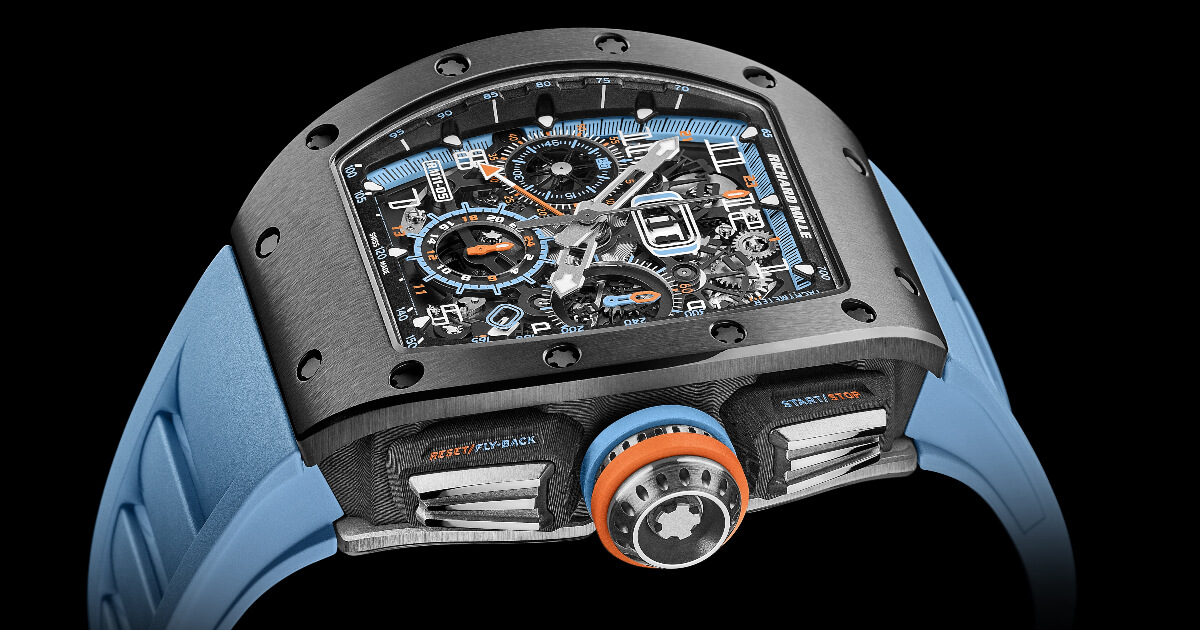 Richard Mille RM 11-05 Automatic Flyback Chronograph GMT (Price, Pictures and Specifications)
