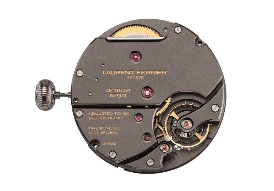 Laurent Ferrier Manual winding calibre LF116.01