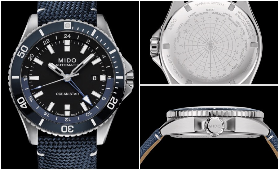 The New Mido Ocean Star GMT
