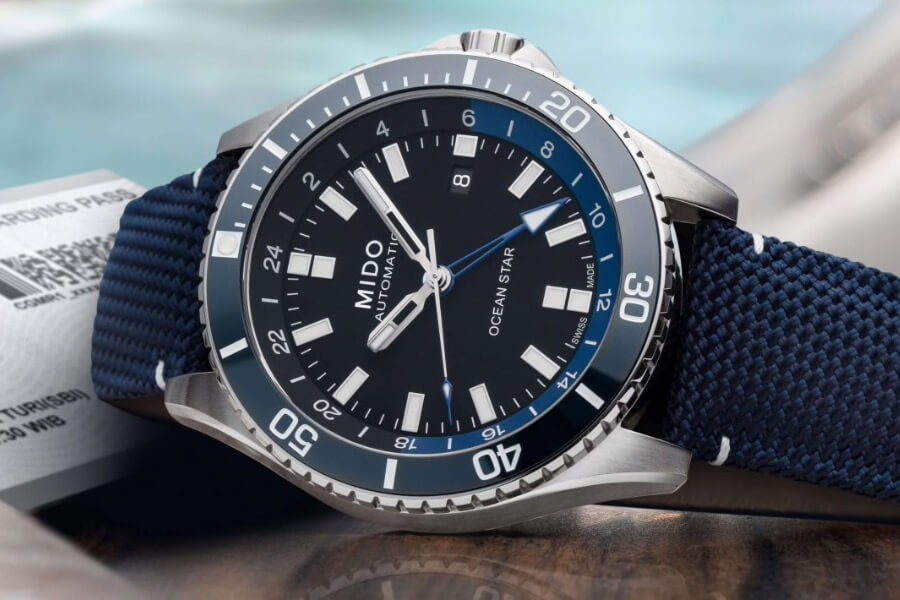 Mido Ocean Star GMT ref. M026.629.17.051.00 Watch Review