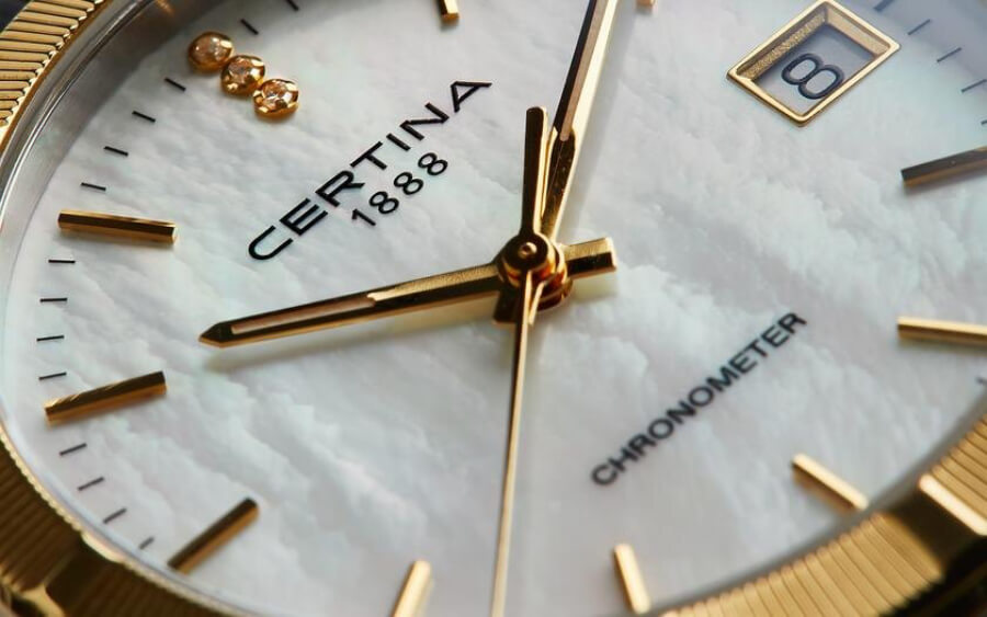 Certina DS Jubilé Lady Mother Of Pearl