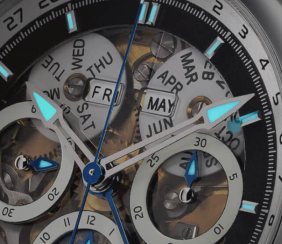 Oileán H-B1 Watch By John McGonigle sapphire dial
