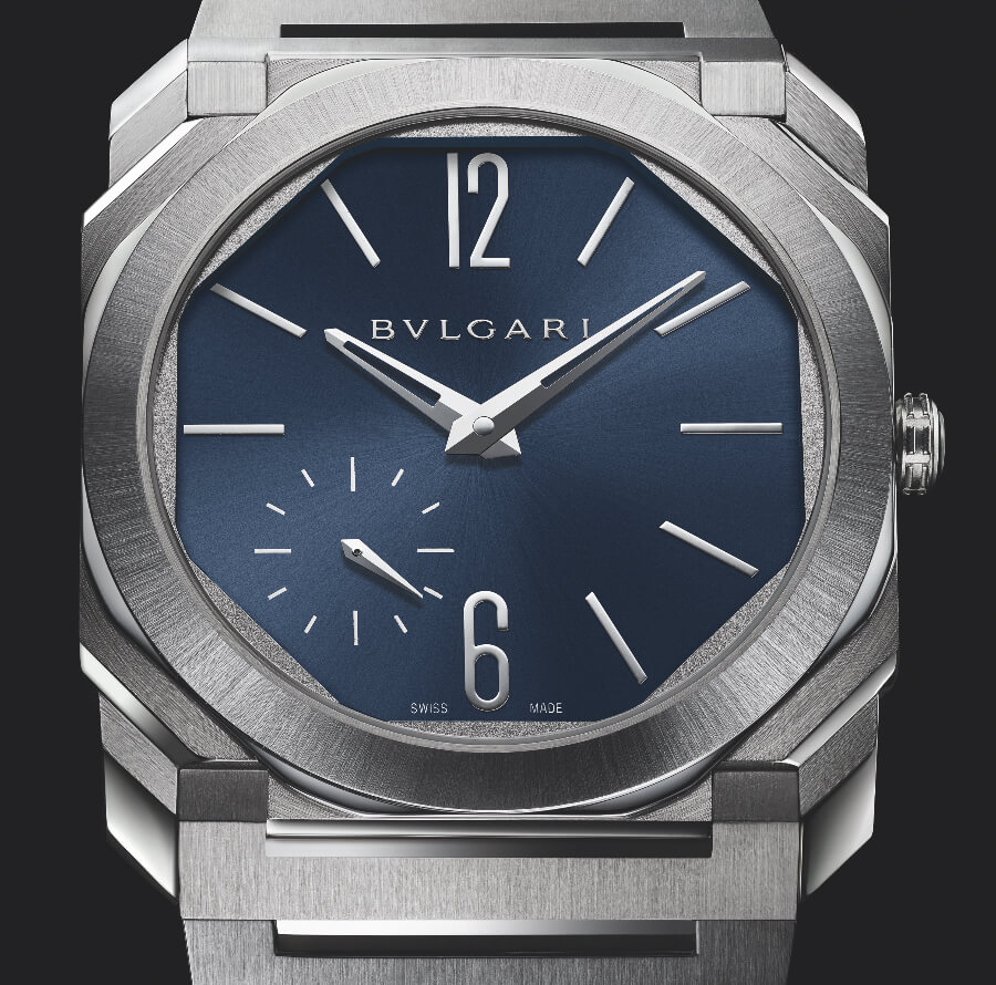 Bvlgari Octo Finissimo Automatic Blue Dial Men Watches