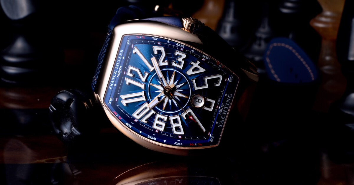 Franck Muller Vanguard Yachting (Pictures and Specifications)