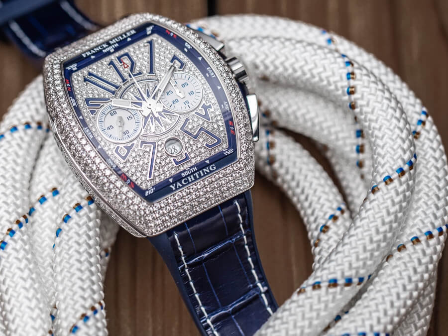 Men Watches Franck Muller Vanguard Yachting