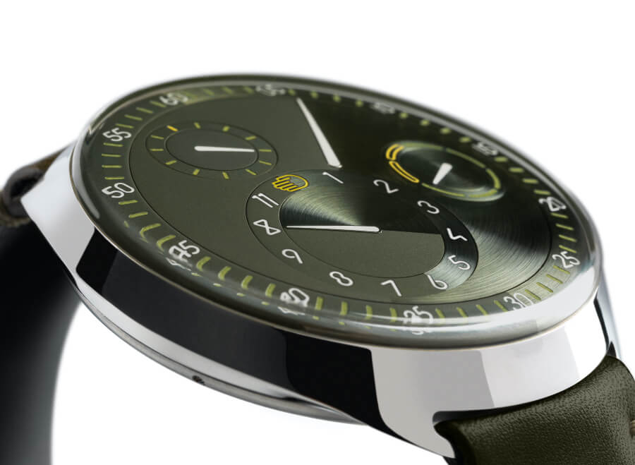 Ressence Type 1 Slim X Green Dial Watch
