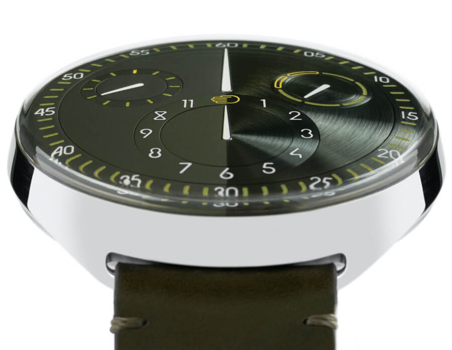 Ressence Type 1 Slim X Olive Green Dial Watch