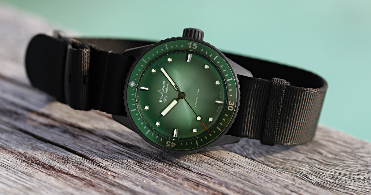 Blancpain Bathyscaphe Mokarran Limited Edition (Price, Pictures and Specifications)