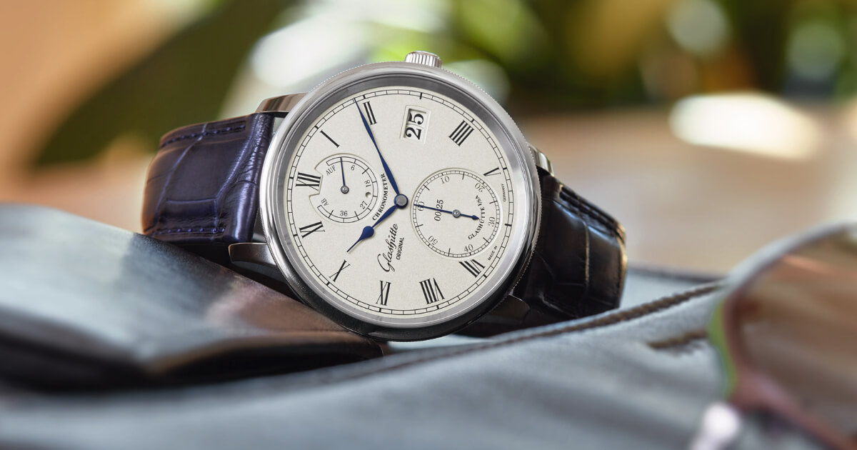 Glashütte Original Senator Chronometer Limited Edition White Gold (Price, Pictures and Specifications)