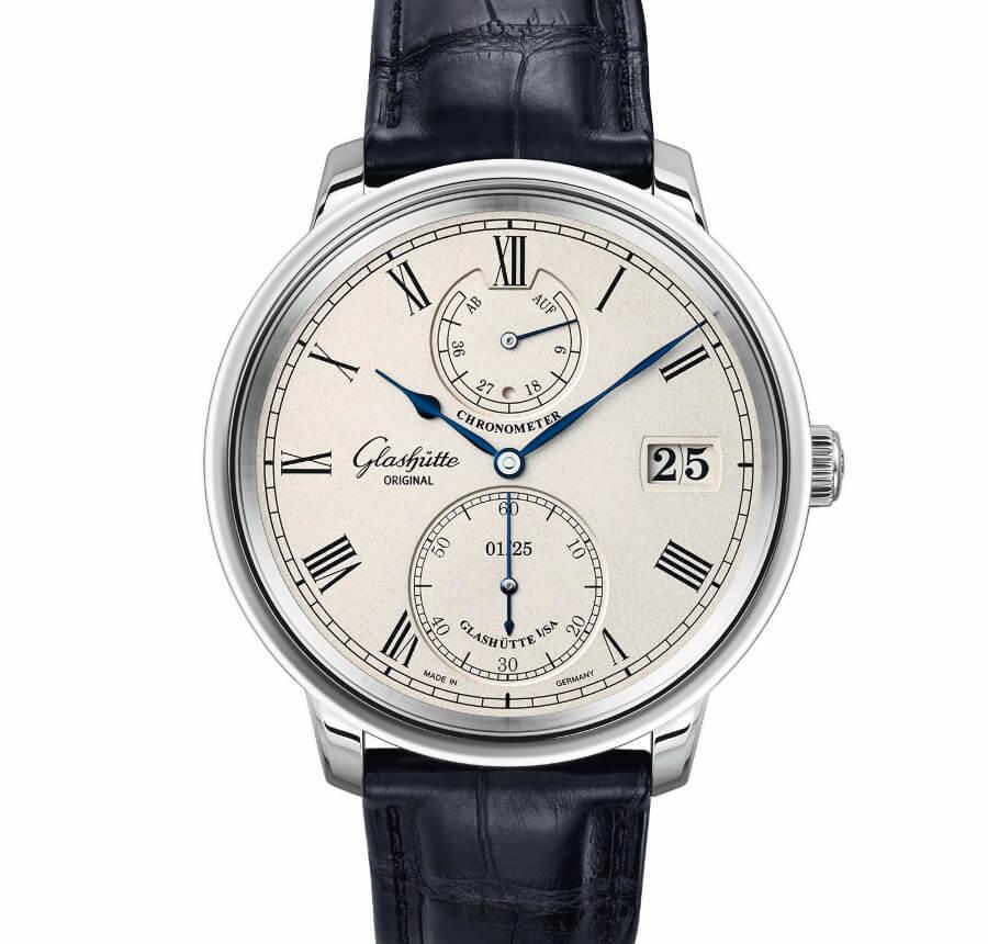 The New Glashütte Original Senator Chronometer Limited Edition White Gold
