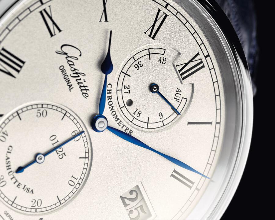 Glashütte Original Senator Chronometer Limited Edition White Gold Dial