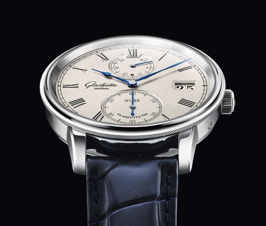 Glashütte Original Senator Chronometer Limited Edition White Gold Men Watches