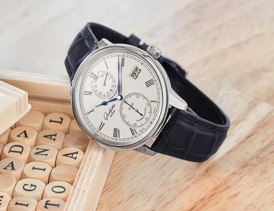 Glashütte Original Senator Chronometer Limited Edition White Gold Watch Review