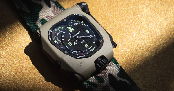 Urwerk EMC Time Hunter Desert Sage (Price, Pictures and Specifications)