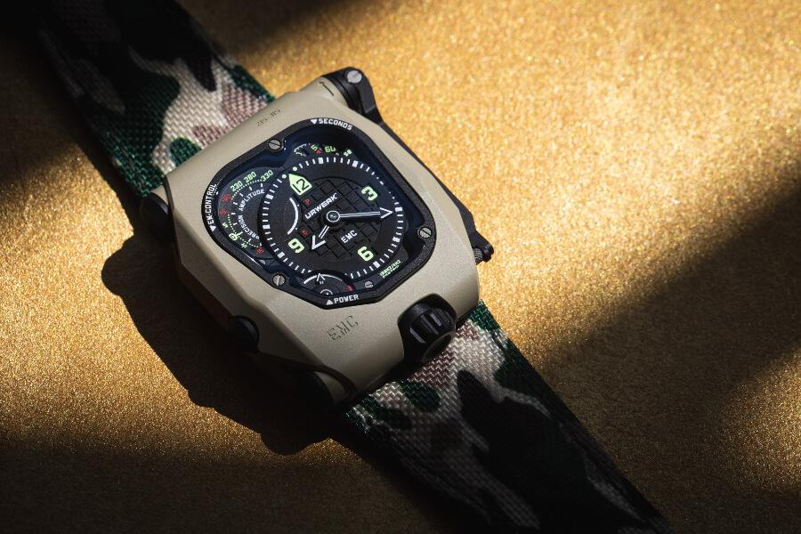 Urwerk EMC Time Hunter Desert Sage Watch Review