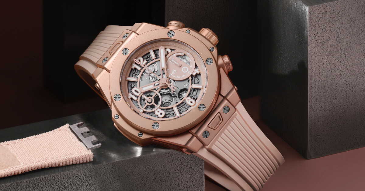 Hublot Big Bang Millennial Pink (Price, Pictures and Specifications)
