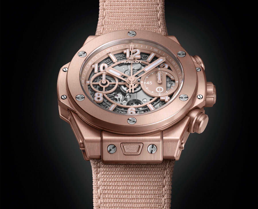 Men Watches Hublot Big Bang Millennial Pink