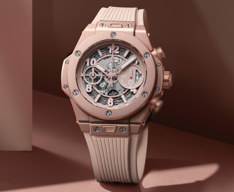 Hublot Big Bang Millennial Pink Watch Review