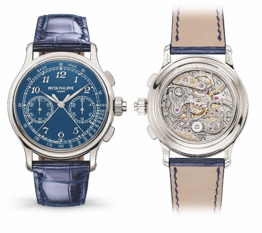 Patek Philippe Ref. 5370P-011 Split-Seconds Chronograph Blue Dial