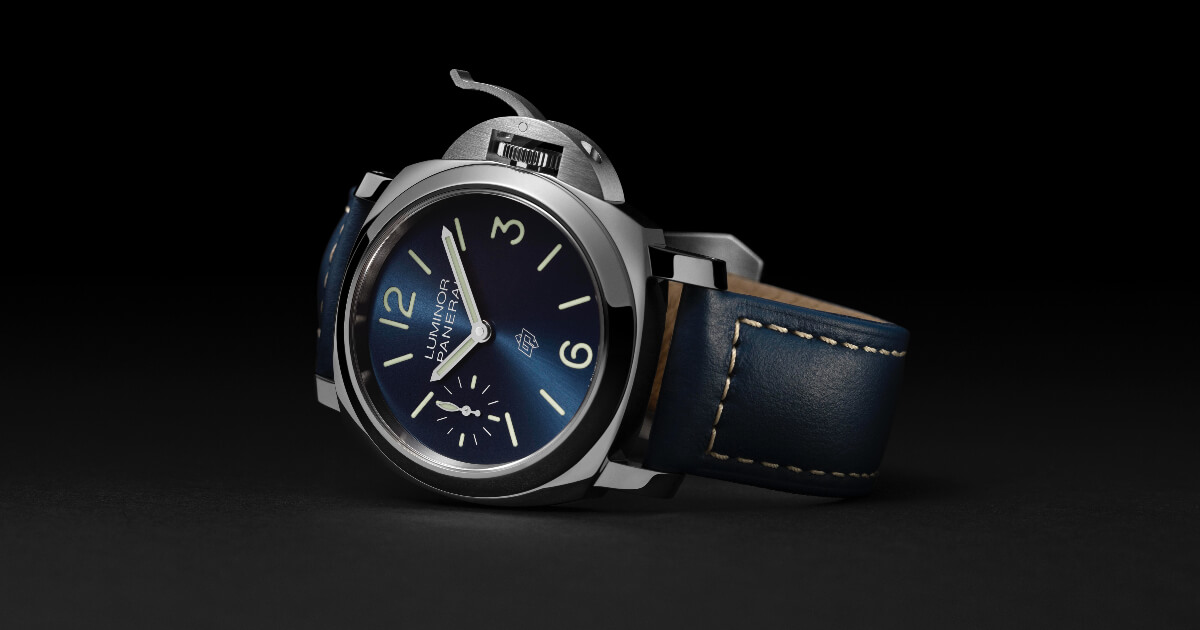 Panerai Luminor Blu Mare – 44 MM (Price, Pictures and Specifications)