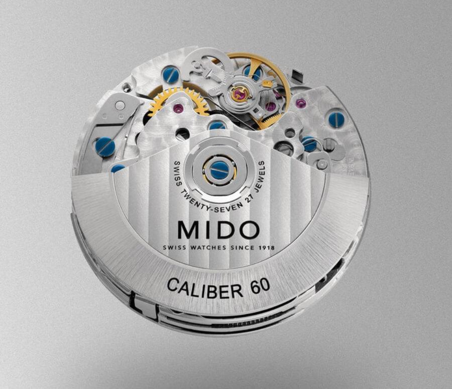 Mido Caliber 60 chronograph