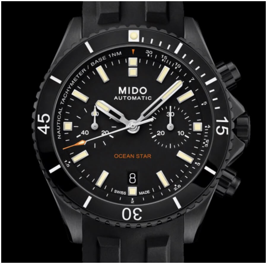 The New Mido Ocean Star Chronograph