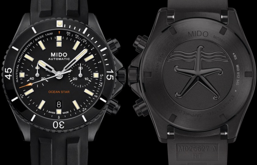 Mido Ocean Star Chronograph Watch Review
