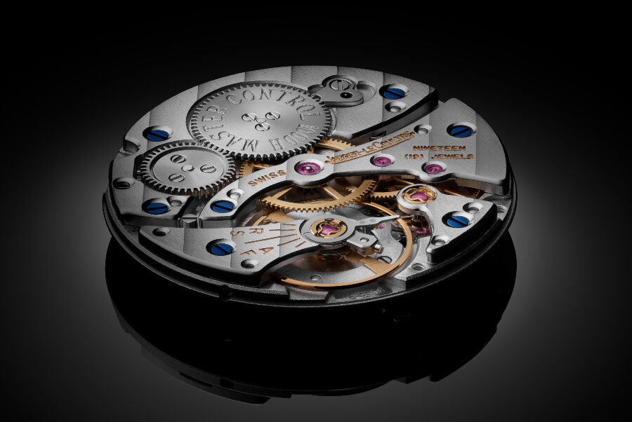 JLC calibre 849 hand-wound movement with 35-hour power reserve